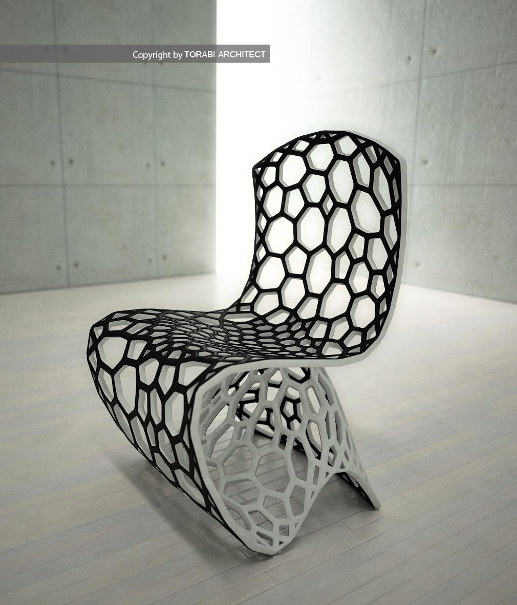 Voronoi chair