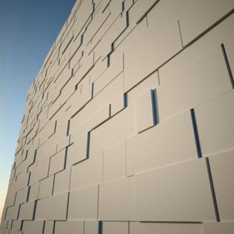 Parametric stone wall