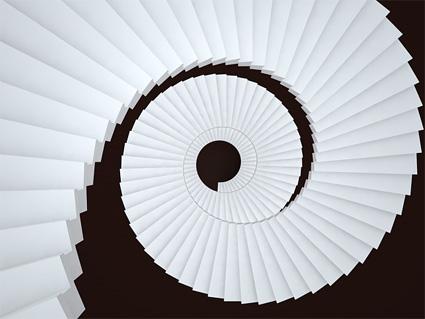 Multi turn spiral