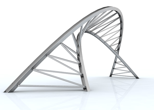 Parametric truss