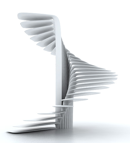 Parametric Spiral Stair Based On A Circle