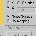 NURBS functions or UV Mapping ?
